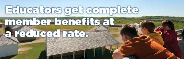 Educators get complete member benefits at a reduced rate