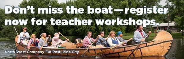 Don't miss the boat—register now for teacher workshops.