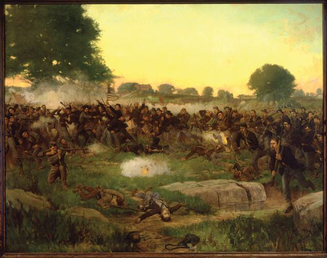 Battle Of Gettysburg Painting History Education Mn