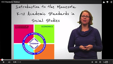 Intro to Social Studies Standards screenshot