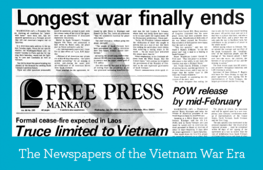 The Newspapers of the Vietnam War Era