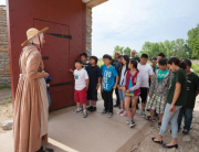 Field trip at Historic Fort Snelling