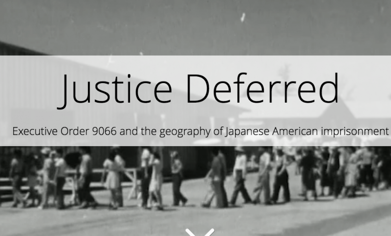 Justice Deferred Story Map