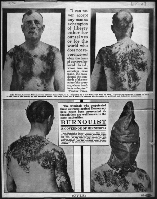 Men Tarred and Feathered | History Education MN